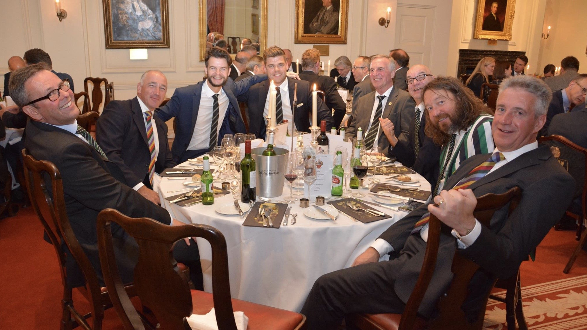 Attendees at a London Dinner event