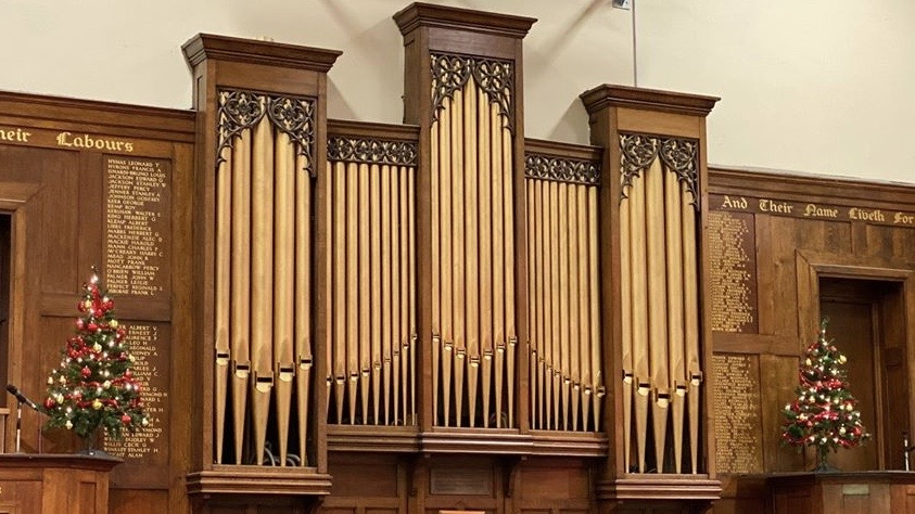 The Organ at Southend High School for Boys